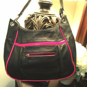 APT 9 Women's Handbag Black/Pink